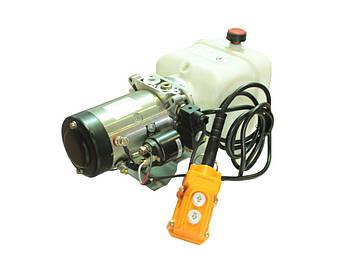 Гидравлическая мини маслостанция для автомобилей