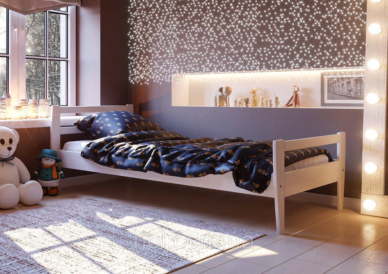 Кровать из натурального дерева Алиса