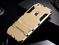 Чехол Apple Iphone 6 Plus / 6S Plus Hybrid Armored Case золотой