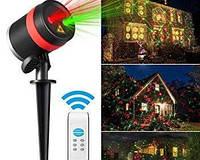 Новогодний лазерный проектор для дома и сада Garden Landscape Light Код:620054145