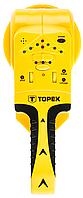 Детектор 3 в 1, для обнаружения древесины/токоведущих проводов/металла, TOPEX