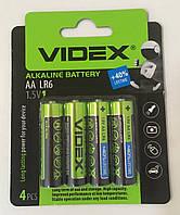Батарейка щелочная Videx Alkaline AA LR6 4 шт.