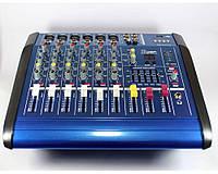 Аудио микшер Mixer BT6300D 7ch 7-канальный вход.