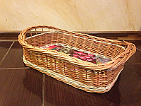 Подносы плетеные из лозы