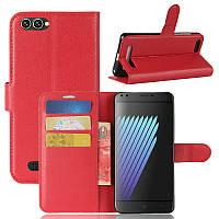 Чехол Doogee X30 / X30 Pro / X30L книжка PU-Кожа красный