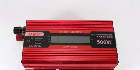 Преобразователь автомобильный AC/DC UKC 500W KC-500D с LCD дисплеем, фото 2