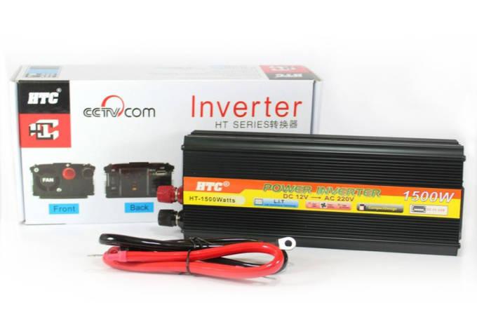 Преобразователь напряжения 12V в 220V 1500W AC/DC SSK Инвертор, фото 2
