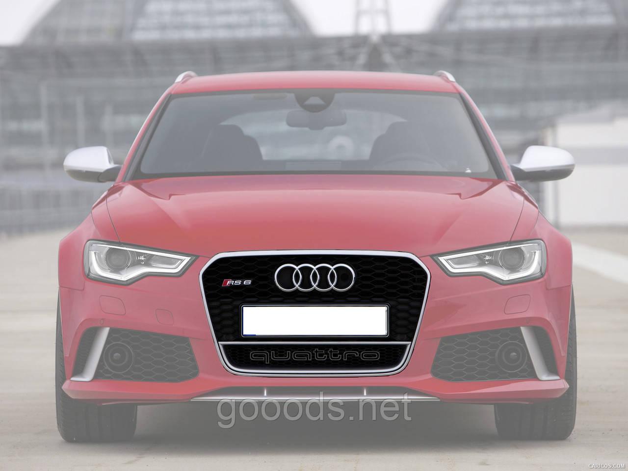 Решетка радиатора Audi A6 в стиле RS6 2012+