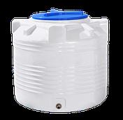 Ёмкость вертикальная  200 литров однослойная 70х66 см Ротоевропласт