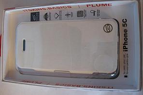 Чохол ITSKINS Plume Artificial iPhone 5C White/Black