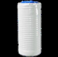 Ёмкость вертикальная узкая 200 литров однослойная 52 х 118 см Ротоевропласт