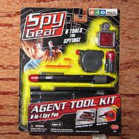 Шпионский набор пенал 6 в 1 SPY Gear на возраст 6+ подарок мальчику к окончанию учебного года, фото 1
