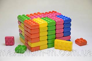 Детский большой конструктор Mega Cube 80 шт. в упаковке. Мега куб.