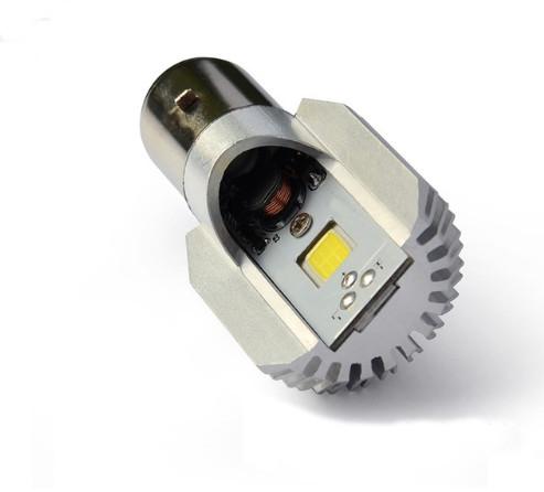 Мотолампа M2 LED цоколь H6 BA20D диод COB 9-80В 6000K (101010)