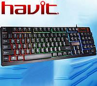 Клавиатура с подсветкой Havit  HV-KB421L, USB, фото 1