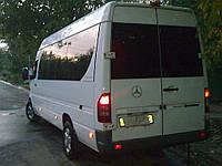 Заднее стекло (распашонка правая) на Mercedes Sprinter (1995-2006), Volkswagen LT (Спринтер (1995-2006), ЛТ)