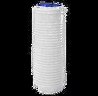 Ёмкость вертикальная 300 литров однослойная 57 х 140 см