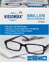 Салфетки для очков, экранов, объективов  VISIOMAX Brillenputztücher, 52 шт