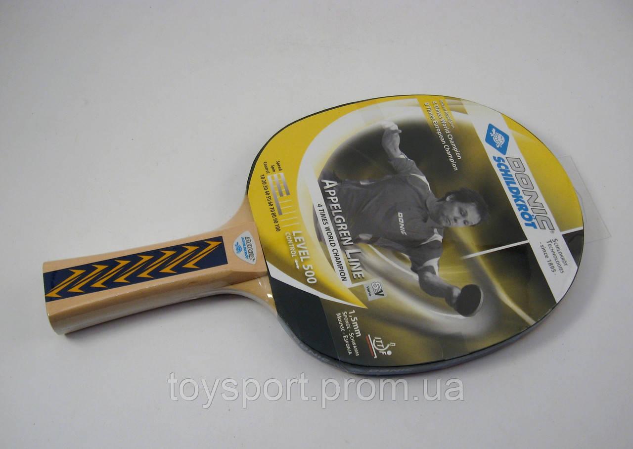 Ракетка для настольного тенниса Donic Level 500 Appelgren Line - Магазин