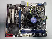 Материнская плата Asrok H55M-LE ( LGA1156) + процессор intel i5 #2060