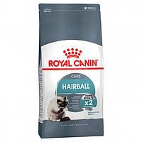 Роял Канин хэйрболл кэа Royal Canin Hairball care сухой шерстевыводящий корм для кошек 400 г