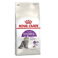 Роял Канин Сенсибл Royal Canin Sensible сухой корм для кошек с чувствительным пищеварением 4 кг