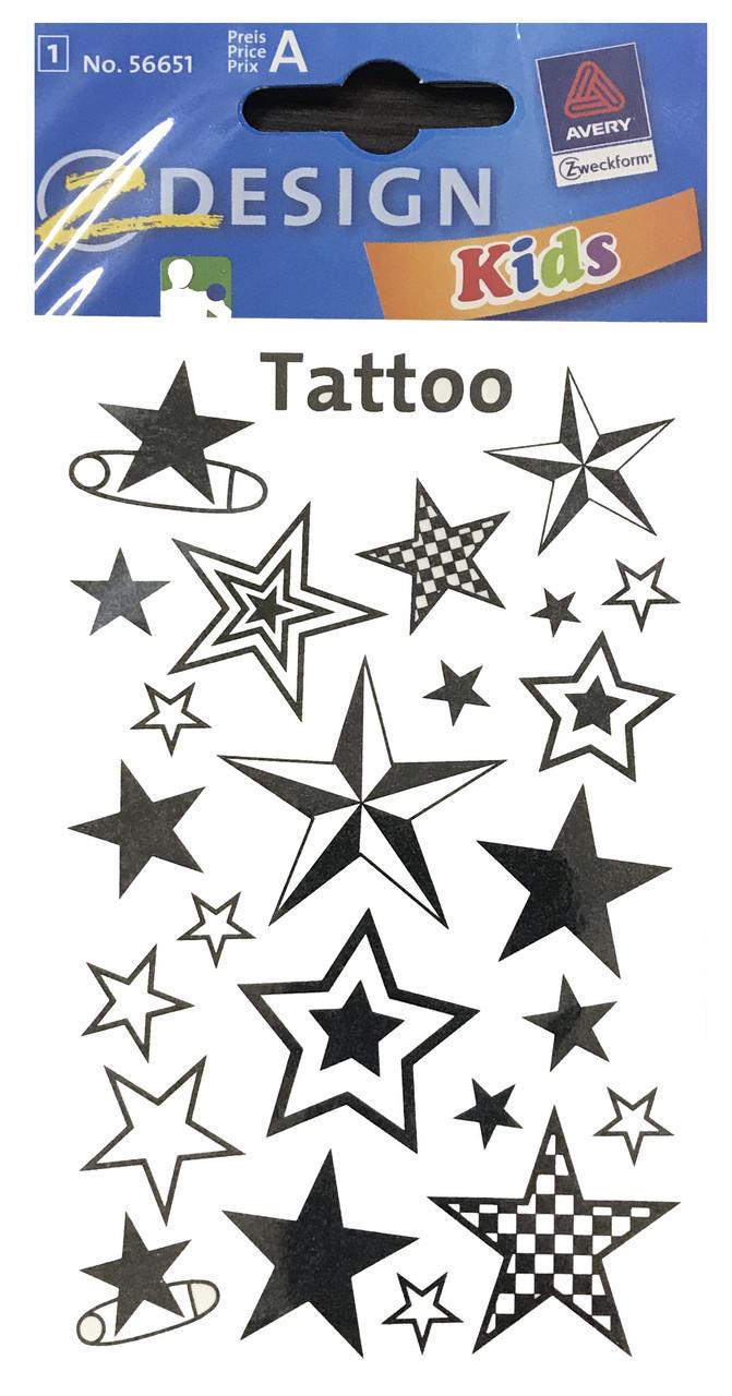 Татуировки со звездочками