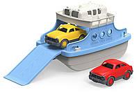 Паром с машинками Грин Тойс (Green Toys Ferry Boat with Mini Cars Bathtub Toy, Blue/White)