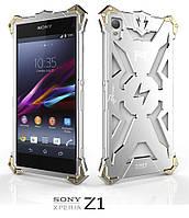 Чохол Simon Thor for Sony Xperia Z1 (C6902) Silver