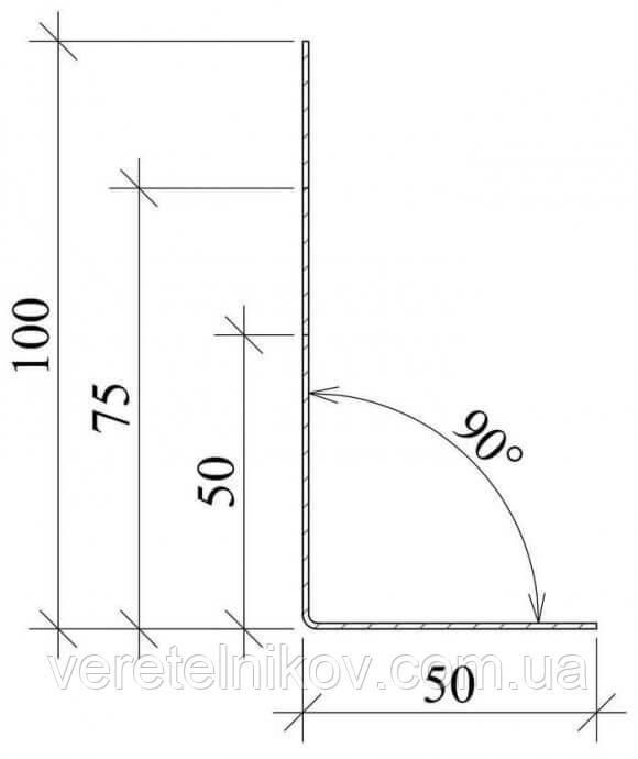 L-профиль для облицовки фасадов