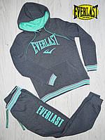 Теплый женский спортивный костюм на флисе Everlast/эверласт/еверласт Оригинал