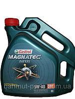 Масло моторное Castrol Magnatec Diesel 5w-40 DPF (Канистра 4л)
