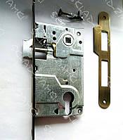 Врезной замок для ручек на розетках KOZAK 9171C-1 AB 85 мм