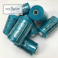 Нитки швейные 40/20 100 ярдов, темно-бирюзового цвет № N-1000-208