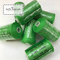 Нитки швейные 40/20 100 ярдов, зеленого цвет № N-1000-181