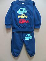 """Утеплённый костюм для мальчиков """" Транспорт """""""