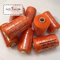 Нитки швейные 40/20 100 ярдов, оранжевого цвет № N-1000-151