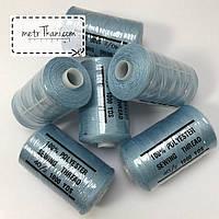 Нитки швейные 40/20 100 ярдов, голубого цвет № N-1000-184