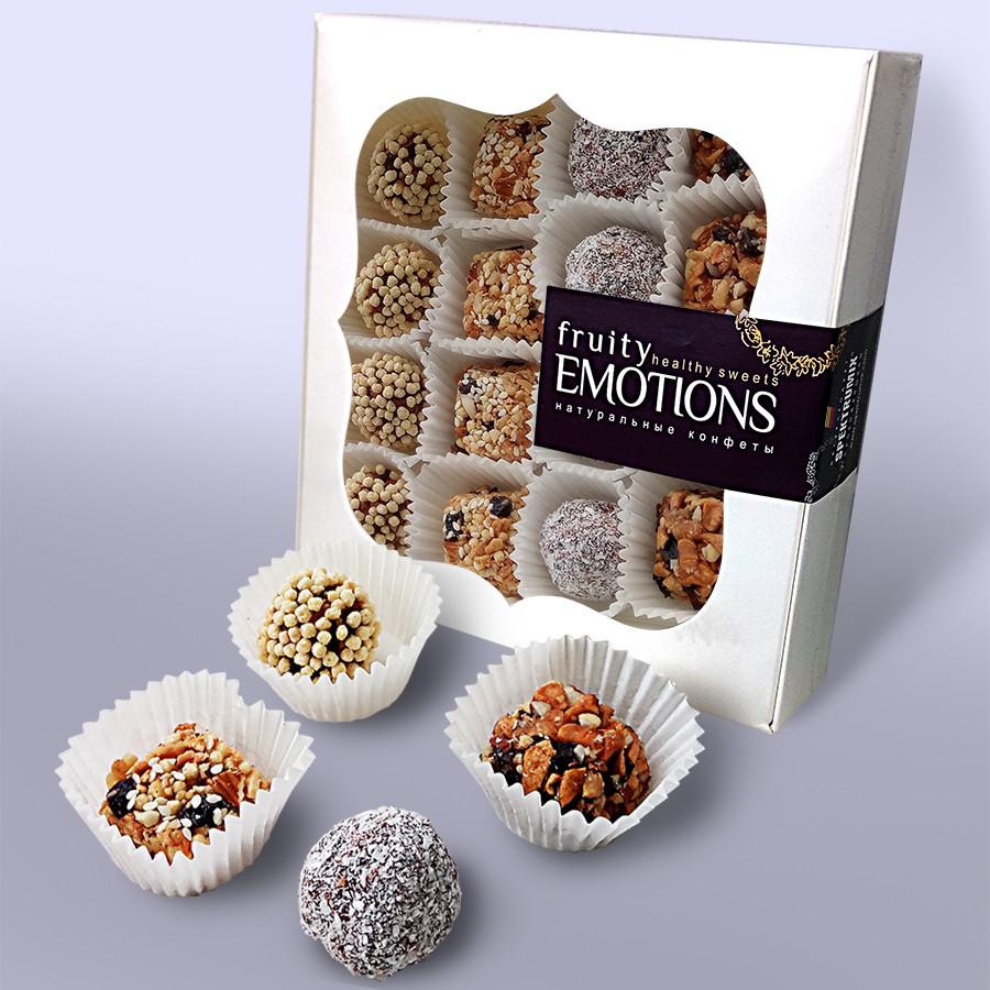 Натуральные конфеты «Fruity emotions» (Фруктовые эмоции), ассорти, 150 г