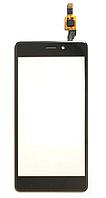 Оригинальный тачскрин / сенсор (сенсорное стекло) для Xiaomi Redmi 4 (черный цвет)