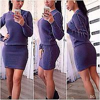 Комплект юбка+свитер №в8 (ГЛ), фото 1
