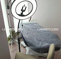 Кольцевая лампа с гибкий штативом, кольцевой свет, диаметр 31 см