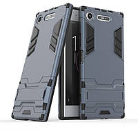 Чехол Sony XZ1 / G8342 / G8341 / F8342 Hybrid Armored Case темно-синий