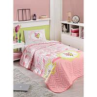 Покрывало стеганное с наволочкой Eponj Home - Sirin розовый 160*220