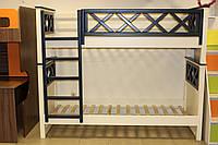 Детская двухъярусная кровать, фото 1