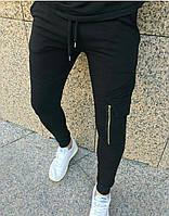 Мужские спортивные штаны из трикотажа