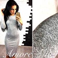 Платье ангора меланж классика размер 46