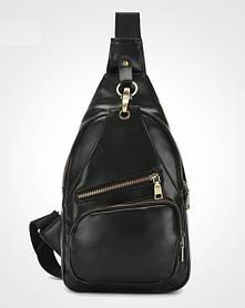 Замечательная сумка-рюкзак на плечо унисекс