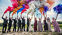 Кольоровий дим для фотосесій, 5 кольорів, 30 сек