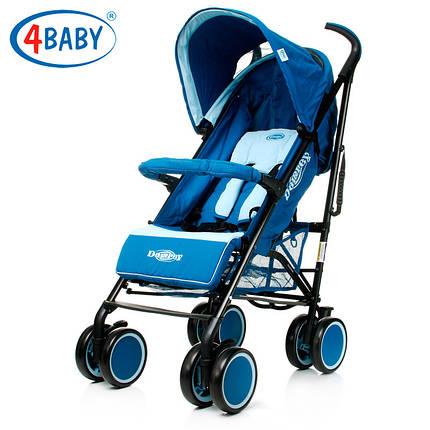 Коляска трость 4 Baby Damrey Blue синий, фото 2